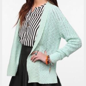 Urban Outfitters Split Hem Boucle Cardigan